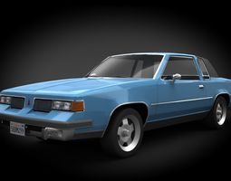 Oldsmobile Cutlass 1982 3D asset