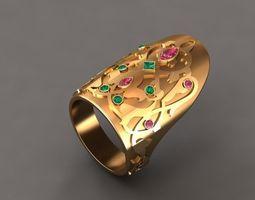thumb ring osmany 3D model