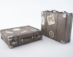 3D other Travel suitcase