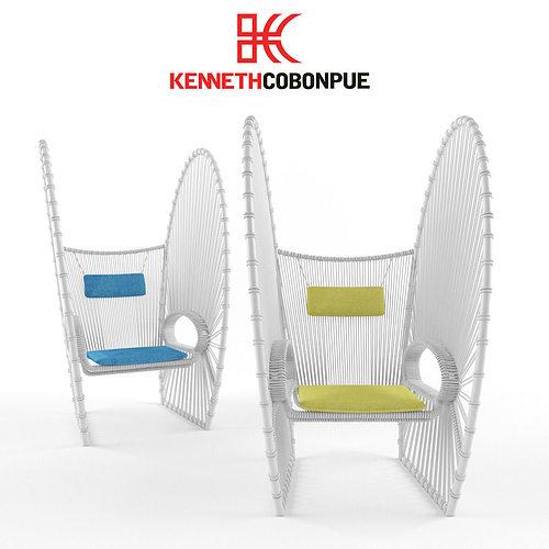 Kenneth Cobonpue Papillon 3D Model