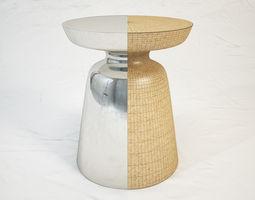 3D model West Elm Martini Side Table