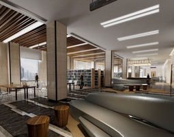 library 011 3d