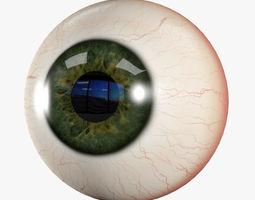 3D asset Human Eye