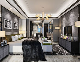 luxury interior design 03 3d