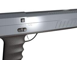 weapon pistol 3D model
