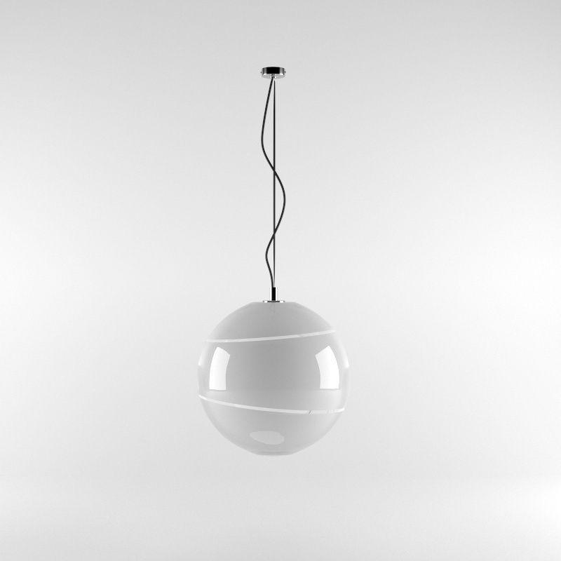 Pendant Lamp A009 3D Model MAX OBJ 3DS FBX