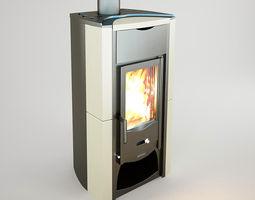 the  fireplace nordica-fiammetta 3d model VR / AR ready