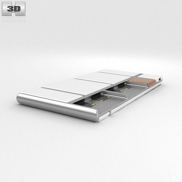 Google Project Ara 3d Model Max Obj 3ds Fbx C4d Lwo Lw Lws
