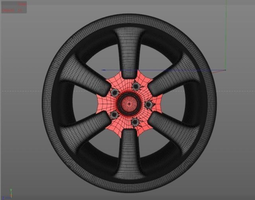 customized rim 3d