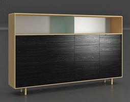3D model Artisan Invito Highboard