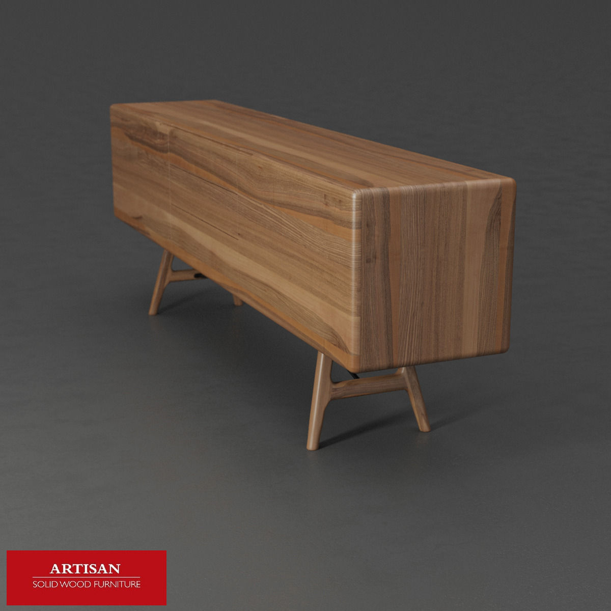 ... Artisan Tesa Sideboard 3d Model Max Obj Mtl 2 ...