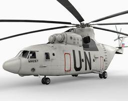 Mil Mi26 Helicopter 3D Model
