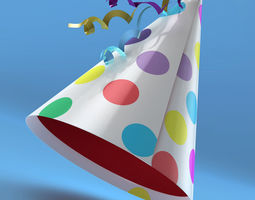 Birthday Party hat 3D