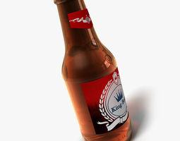 3D Bottle of beer