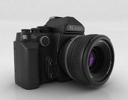 3D Nikon DF Black