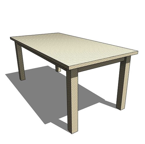 3d parametric table cgtrader for Table 3d model