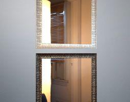 3d printable model mirror retro kerasan