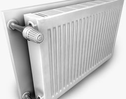 3D model Heating Radiator