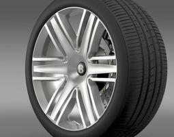 3D Bentley Continental GTC 2015 wheel