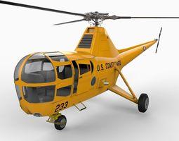 Sikorsky H5 S51 3D Model