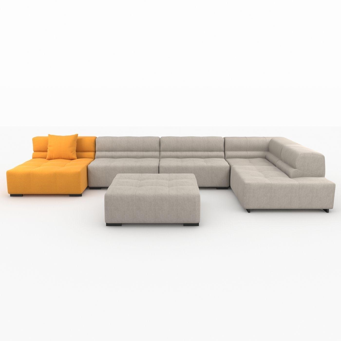 Wonderful Bb Italy Furniture. Tufty Time Sofa By Bb Italia 3d Model Max Obj 3ds Fbx