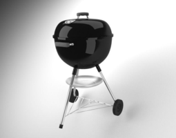 3D model barbeque barbecue