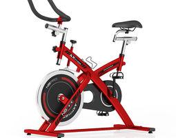 3d stationary spinning bike