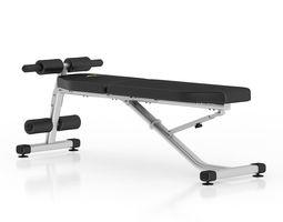 3D model Adjustable Gym Bench