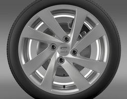 3d seat mii wheel