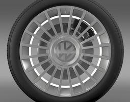 3D Volkswagen UP wheel