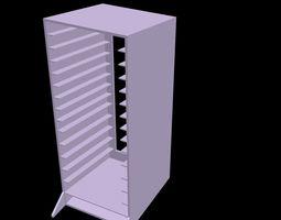 3d print model hard disk storage case for 14 bays laptop hdd