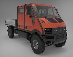 BREMACH T-REX DUBLE  CAB 3D Model
