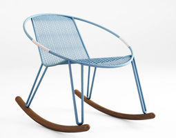 3d tait volley dining lounge bar stool rocker chairs