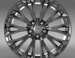 3D Nissan Cima Hybrid rim