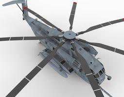 CH53E Super Stallion 3D Model