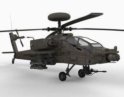 AH64 AD Apache 3D Model