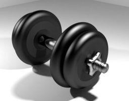 3D Exercise Equipment Dumbell