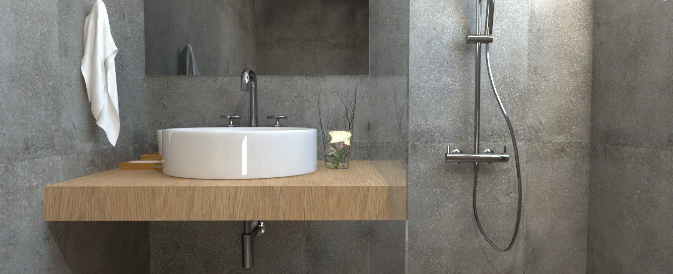 Bathroom Model detailed bathroom 3d model skp