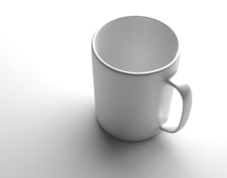 Simple Coffee Mug 3D