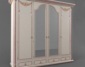 The classic wardrobe 3D asset