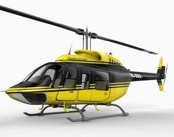 206 Jet Ranger 3D Model