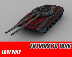 3D asset Tank sci-fi