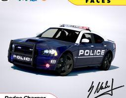 Dodge Charger SRT8 2006 Police - normal - carrig 3D