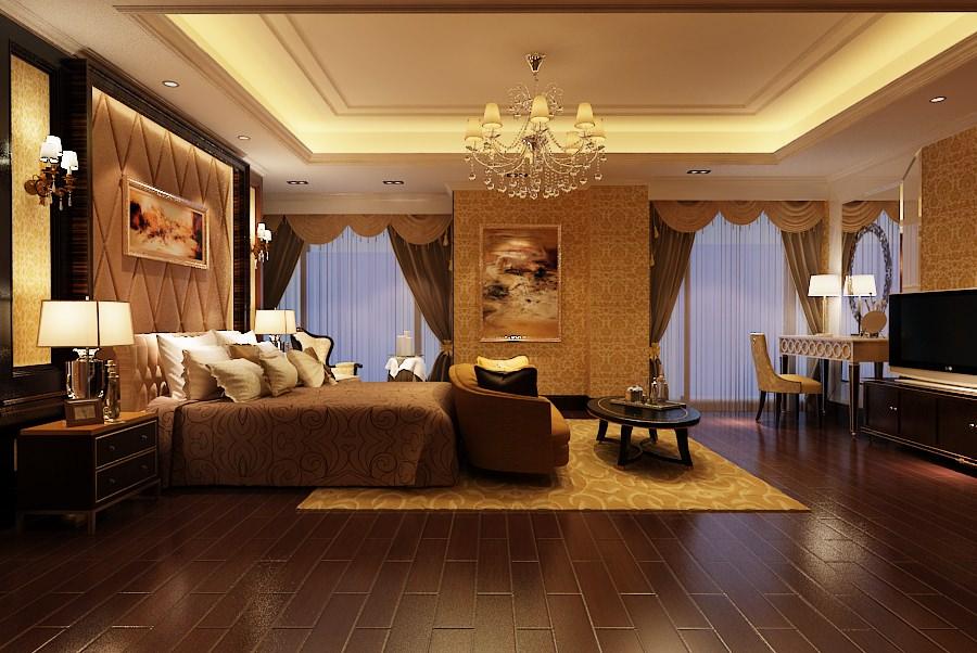 elegant master bedroom b2 c12 3d model max 1. Elegant Master Bedroom B2 c12 3D model MAX