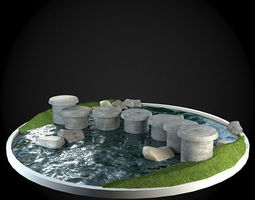 Bridge 3D model building