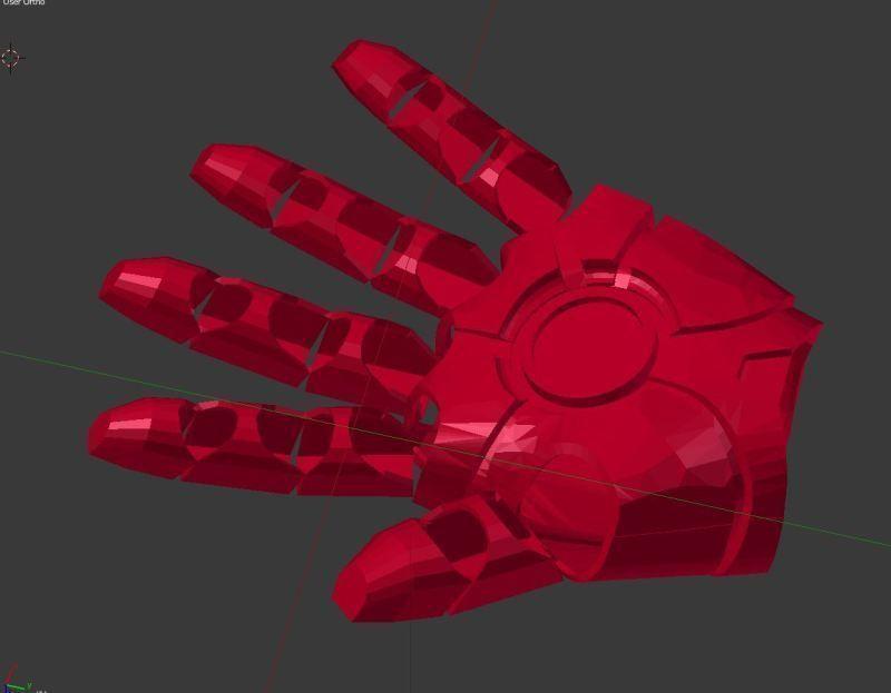 Iron Man Hand | 3D Print Model