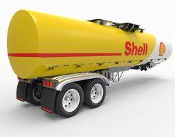Shell Tanker 3D model