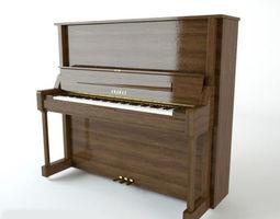 3D Piano architectural