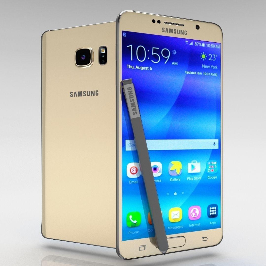 Samsung Galaxy Note 5 Gold Platinum
