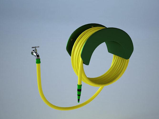 hose and tap 3d model obj mtl fbx ma mb 1